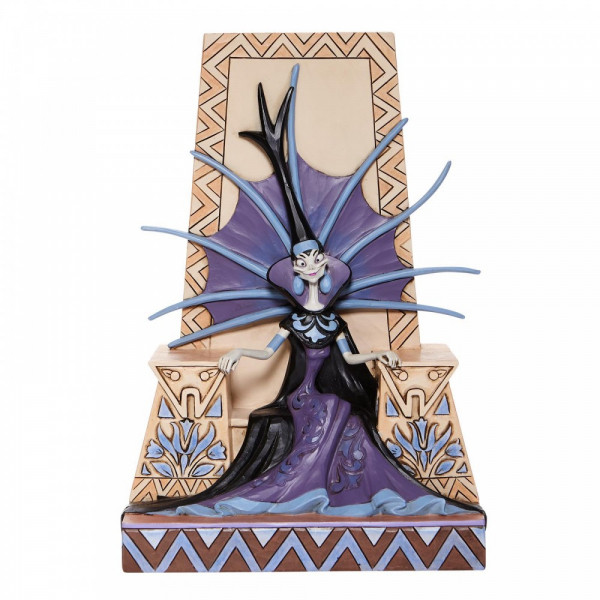Disney Traditions, Jim Shore, Jim Shore Disney, Jim Shore Disneyfigur, Jim Shore Disney Figur, Emeciated Evil, Ausgemergelte Böse, Villain Yzma, Ein Königreich für ein Lama, Emperor's New Groove, 6008061