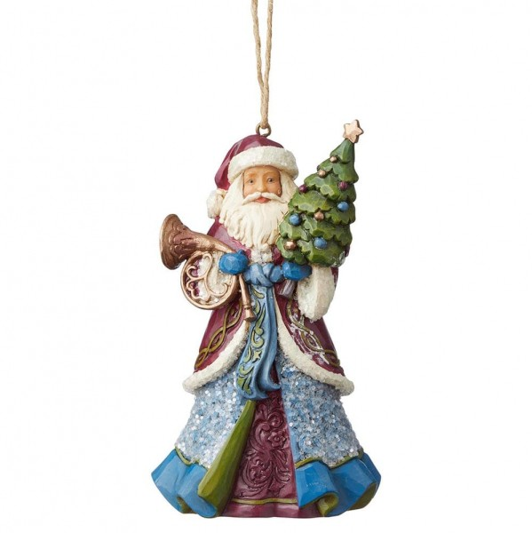 Heartwood Creek, Jim Shore, Victorian Santa Holding Tree Ornament, Anhänger
