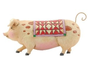 Heartwood Creek, Jim Shore, Mini Pig, Mini Schwein