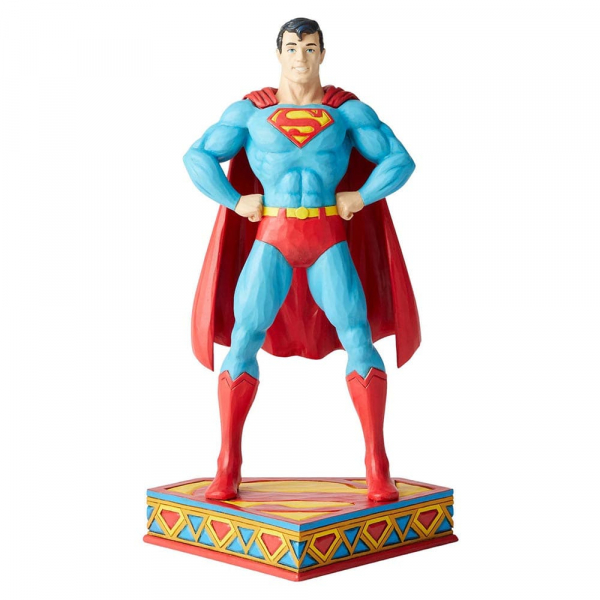 Disney Traditions, Jim Shore, Silver Age - DC Comics Justice League, Superman