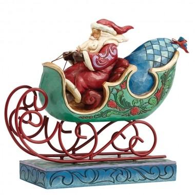 Heartwood Creek, Jim Shore, Enjoy the Ride Santa, Weihnachtsmann