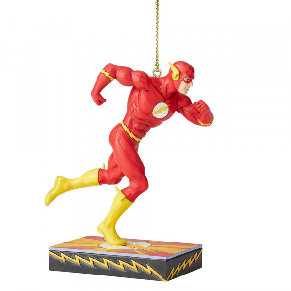 Disney Traditions, Jim Shore - The Flash Ornament / Anhänger, Silver Age - DC Comics Justice League
