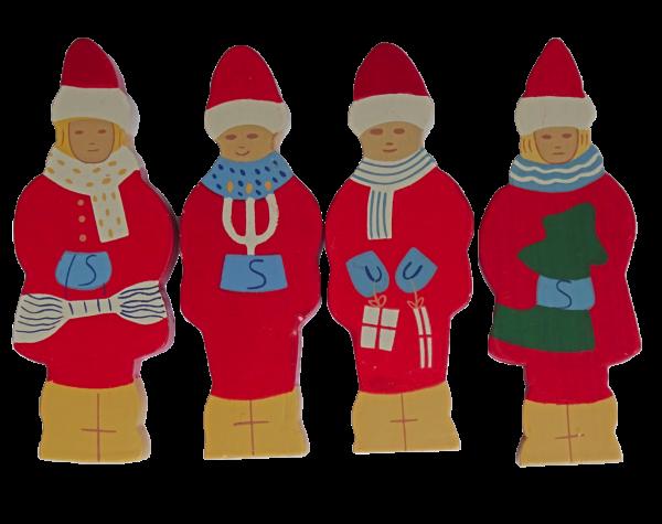 Sebastian Design, Kerzenringe, Holzkränze, Steckfiguren, Winterkinder, Weihnachtskinder