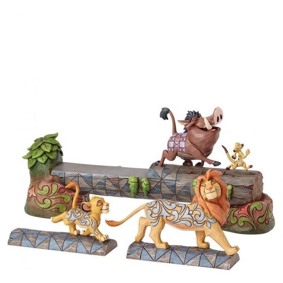 DIsney Traditions, Jim Shore - Carefree Camaraderie - The Lion King / König der Löwen