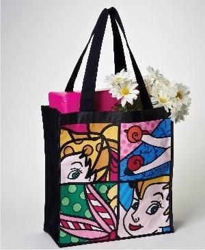 Romero Britto Pop Art aus Miami - Tinker Bell Bag / Tinkerbell Tasche