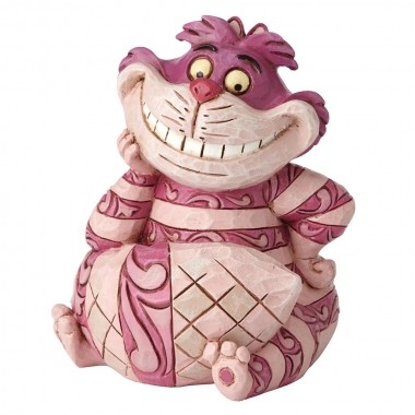 Disney Traditions, Jim Shore - Mini Cheshire Cat / Mini Grinsekatze, Alice in Wonderland / Alice im Wunderland