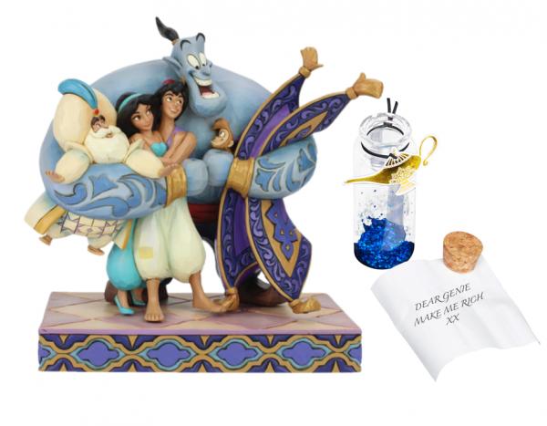 Disney Traditions, Jim Shore, Aladdin, Group Hug, Gruppenumarmung