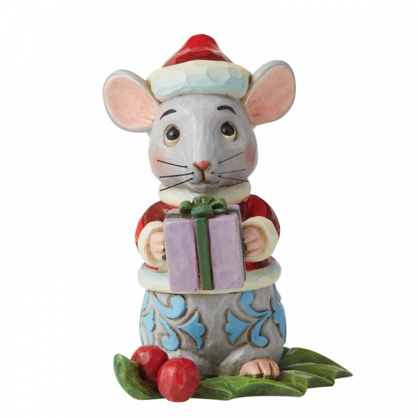 Heartwood Creek, Jim Shore, Christmas Mouse, Weihnachtsmaus