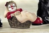 Gilde Handwerk, Gilde Clowns, Mädchen im Korb