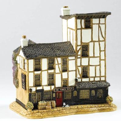 Lilliput Lane, Miniaturhäuser, Miniaturhaus, Cottage, The Punch House