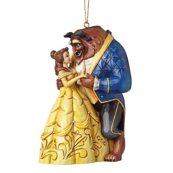 DIsney Traditions, Jim Shore - Beauty & The Beast Ornament / Die Schöne und das Biest Anhänger