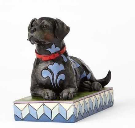 Heartwood Creek, Jim Shore, Onyx, Schwarzer Labrador, dog, Hund