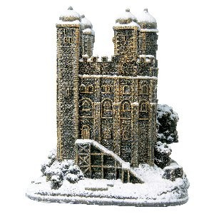 Lilliput Lane, Miniaturhäuser, Miniaturhaus, Cottage, Tower of London, Bronze