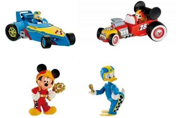 Bullyland, Mickey und die flinken Flitzer, Micky, Donald, Goofy, Minnie, Rennauto