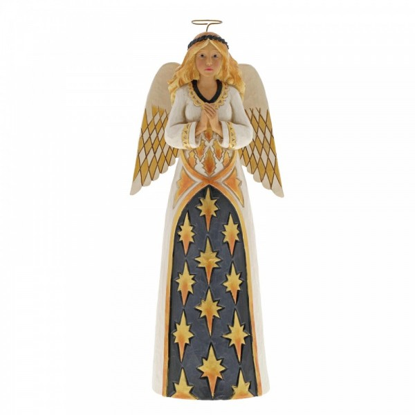 Heartwood Creek - Black & Gold, Gracious Greetings Angel, Engel