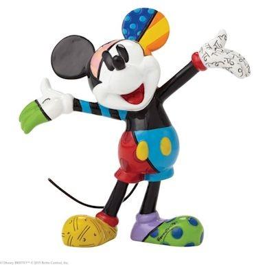 Romero Britto Pop Art aus Miami - Mickey Mouse Mini / MIcky Maus