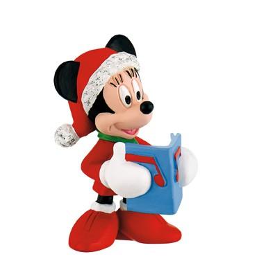 Bullyland, Minnie Mouse, Minnie Maus, Weihnachtsfigur, Weihnachten