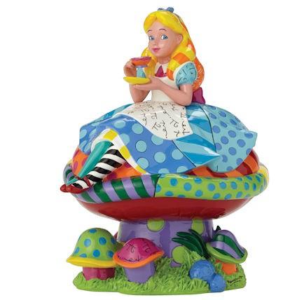 Romero Britto Pop Art aus Miami - Alice in Wonderland / Alice im Wunderland