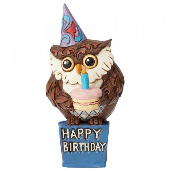 Heartwood Creek, Jim Shore, Mini Birthday Owl, Geburtstagseule, Eule