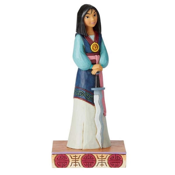 Disney Traditions, Jim Shore, Winsome Warrior Mulan - Siegreicher Krieger / Princess Passion