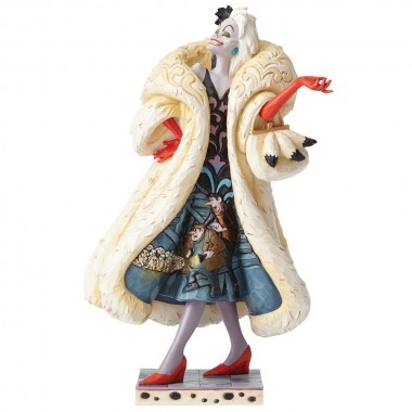 Disney Traditions, Jim Shore - Devilish Dognapper, Cruella De Vil / 101 Dalmatiner