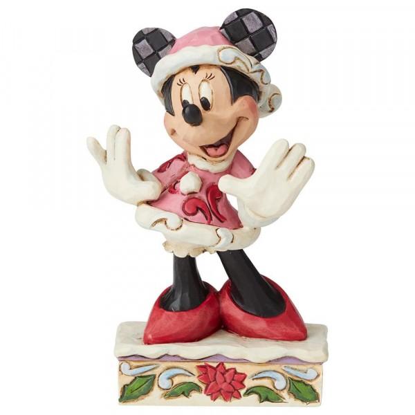 Disney Traditions, Jim Shore, Festive Fashionista Minnie Mouse / Festliches Modepüppchen