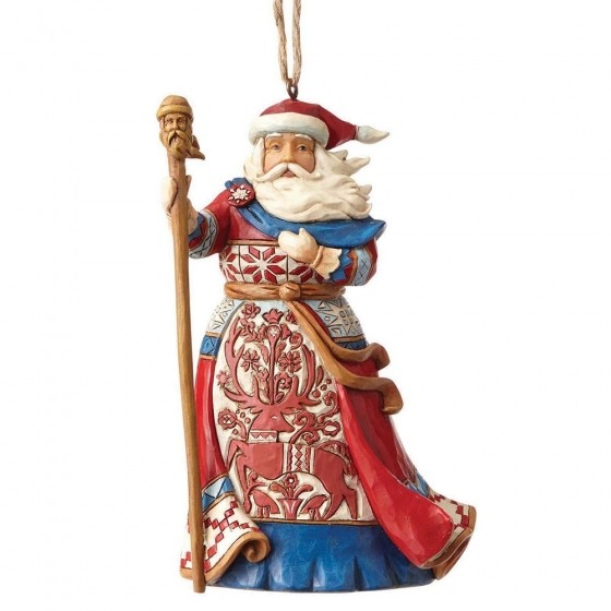 Lapland Santa Ornament