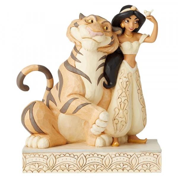 Disney Traditions, Jim Shore - Wondrous Wishes - Wundersame Wünsche / Jasmine und Rajah