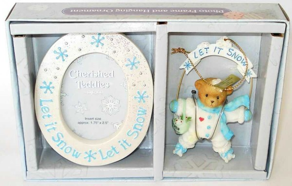 Cherished Teddies, Let it Snow Ornament, Anhänger