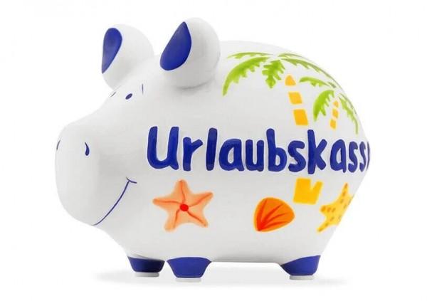 KCG Sparschweine, Best of Sparschwein, das Markenschwein, Kleinschwein, Sparschwein, Spardose, Sparbüchse, Wir sind das Schwein, Sparschwein Urlaubskasse, Urlaubskasse Schwein 101729, Geldgeschenk