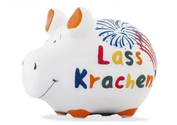 KCG Sparschweine, Best of Sparschwein, das Markenschwein, Kleinschwein, Sparschwein, Spardose, Sparbüchse, Wir sind das Schwein, Sparschwein Lass krachen, Lass krachen Schwein 101577, Geldgeschenk