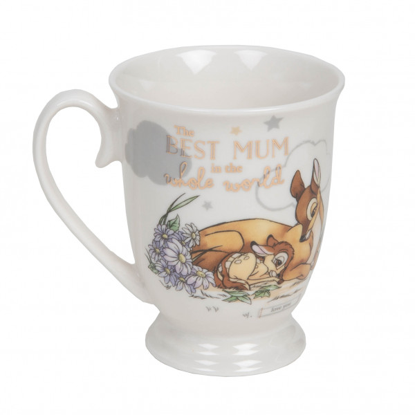 Disney, Walt Disney, Widdop and Co, Disney Magical Beginnings, Bambi Mug, Bambi Becher, The Best Mum, DI702