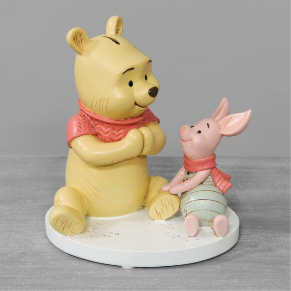 Widdop, Disney Magical Moments, Winnie Pooh & Piglet Money Bank, Winnie Puuh & Ferkel Spardose