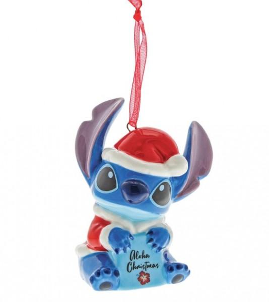 Enchanting Disney Collection. Enchanting Disney, Stitch Ornament, Stitch Weihnachtsanhänger, Walt Disney Stitch, A30406, Enchanting Disney Stitch