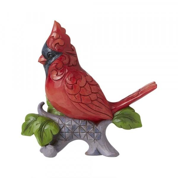 Jim Shore, Heartwood Creek, Jim Shore Vogel, A Cardinal Sings For The Joy He Brings, Kardinal, Kardinalsvogel, 6008416