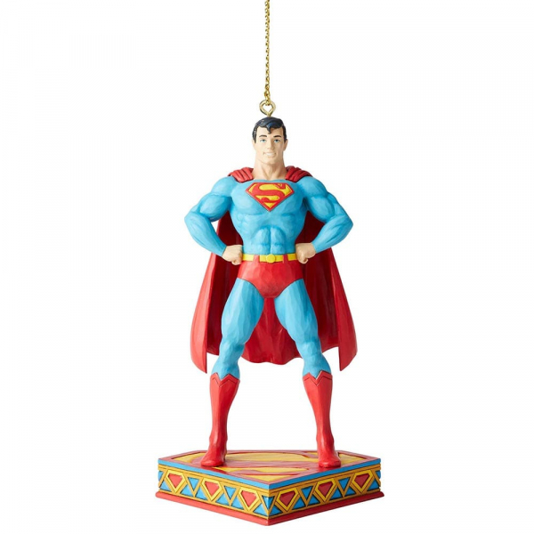 Disney Traditions, Jim Shore, Silver Age - DC Comics Justice League, Superman Ornament / Anhänger