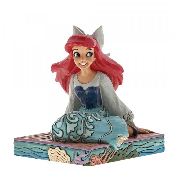 Disney Traditions, Jim Shore - Be Bold Arielle - Sei mutig, Ariel, Personality Poses
