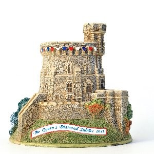 Lilliput Lane, Miniaturhäuser, Miniaturhaus, Cottage, Jubilee Windsor Round Tower