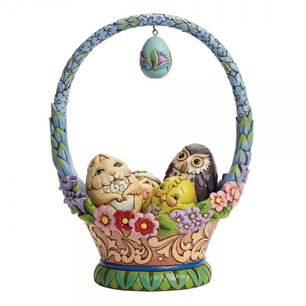 Heartwood Creek, Jim Shore, Glorious Things of Spring, Easter Basket, Osterkorb