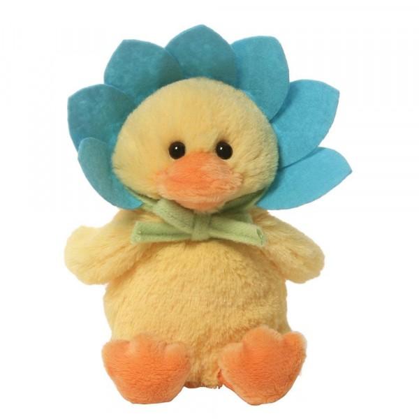 Flower Duck / Blumenente, türkis