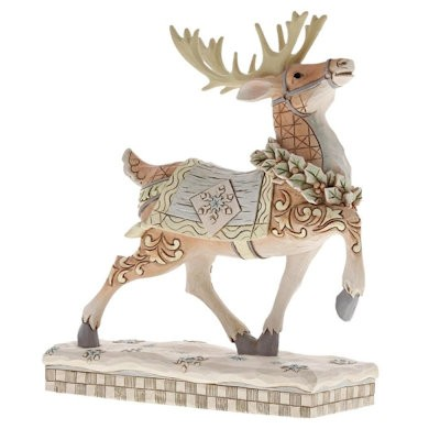 Heartwood Creek, Jim Shore, Dashing To Deliver Reindeer, Rentier