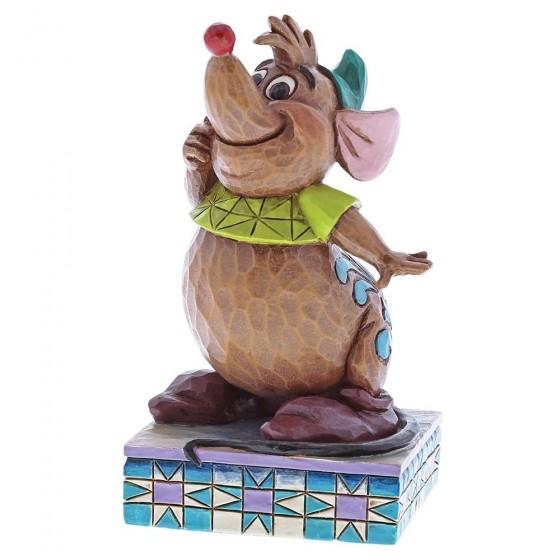 Disney Traditions, Jim Shore - Cinderelly's Friend / Gus aus Cinderella
