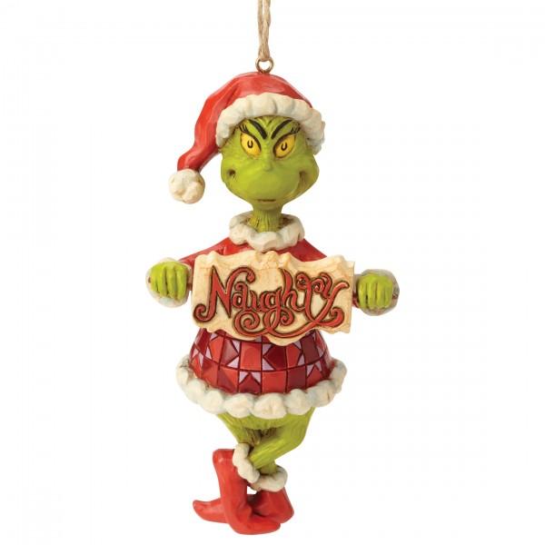 The Grinch, Der Grinch, Jim Shore, Naughty or Nice Ornament, Böse und gut, Anhänger