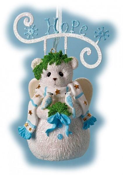 Cherished Teddies, Hope Snowbear, Ornament, Anhänger