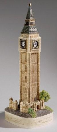 Lilliput Lane, Miniaturhäuser, Miniaturhaus, Cottage, Big Ben