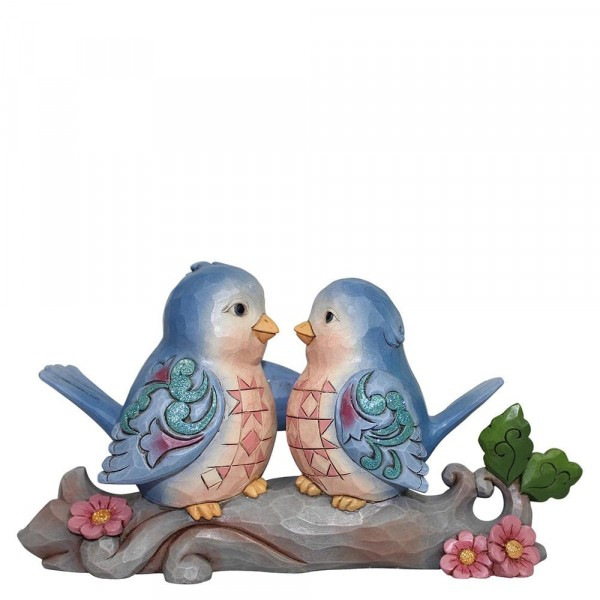 Heartwood Creek, Jim Shore, Happiness Together, Lovebirds, Liebesvögel, Vögel, Vogel