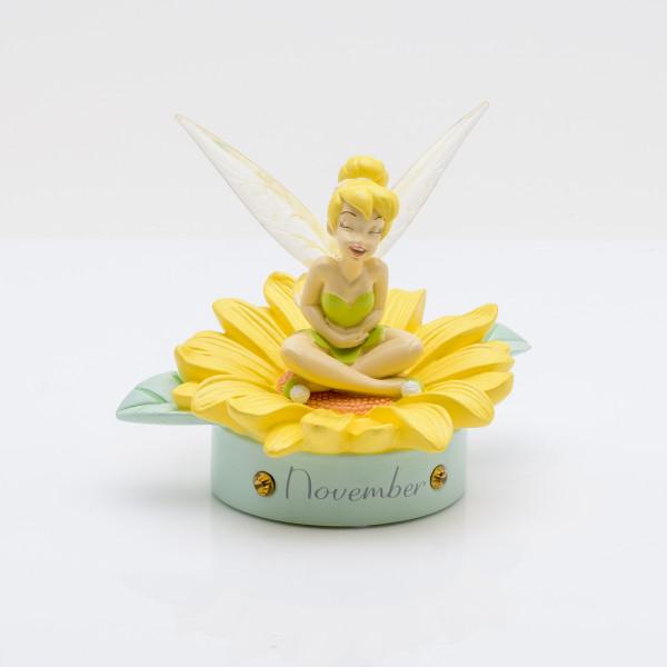 Widdop, Disney, Walt Disney, Tinker Bell, Tinkerbell, Tinkerbell Birthstone Figurine, November, Geburtsstein, DI799