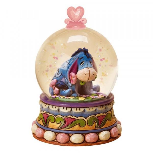 Disney Traditions, Jim Shore, Gloom To Bloom Eeyore Waterball - I-ah Schneekugel