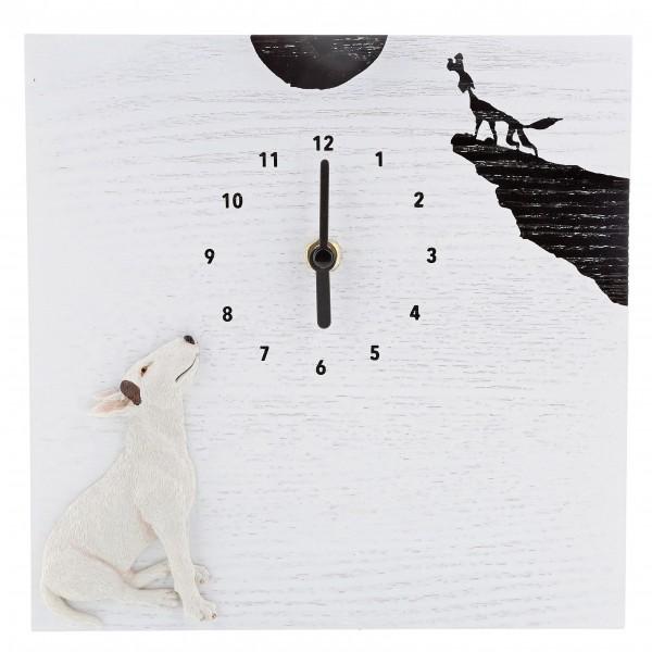 Jimmy The Bull, Pride Rock Clock, Wanduhr, Uhr, Figur, Pitbull, Bullterrier