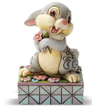 Disney Traditions, Jim Shore - Spring Has Sprung Thumper - Klopfer aus Bambi